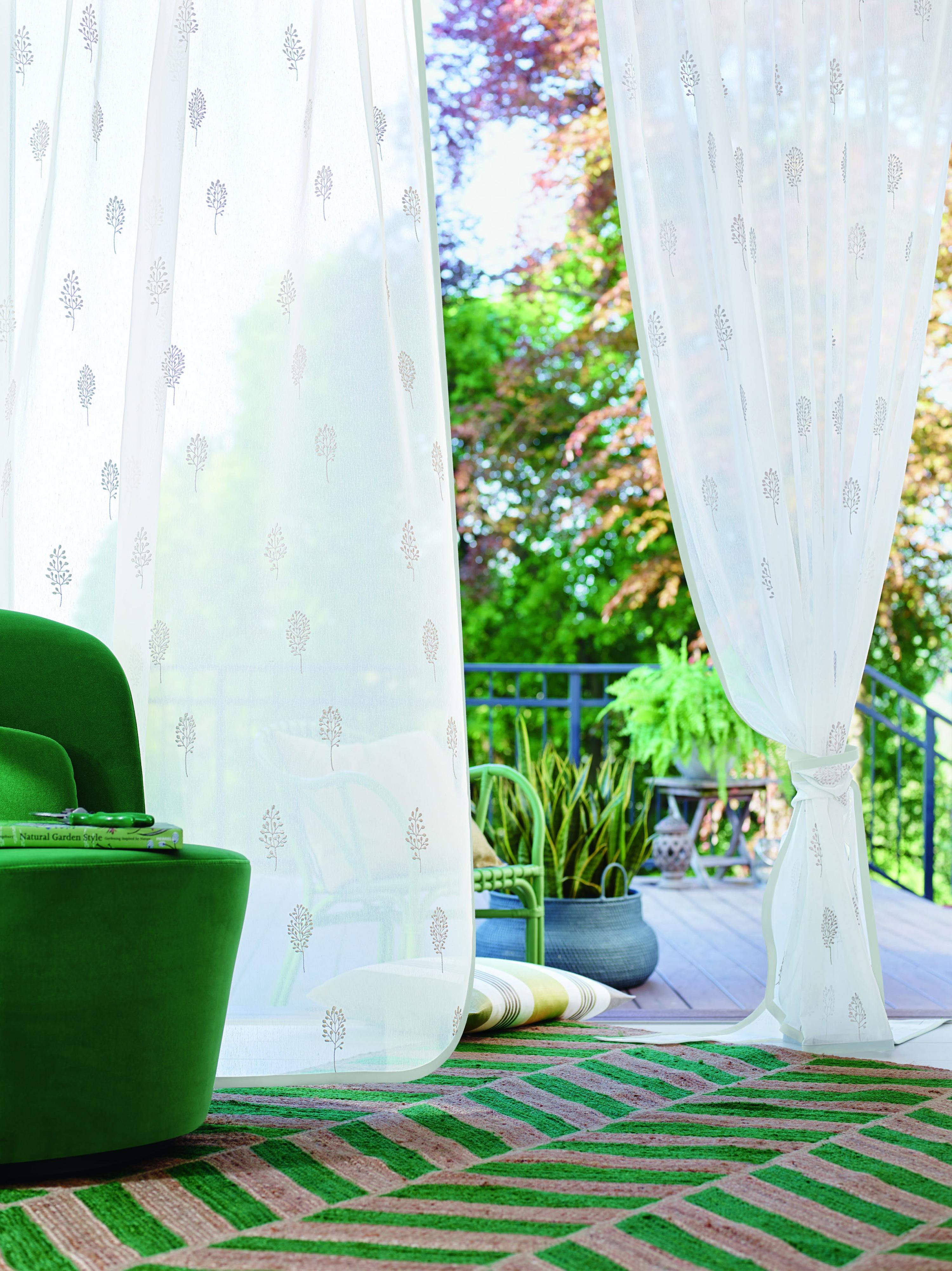 Elegant Gardinenstoffe Landhaus Ideen